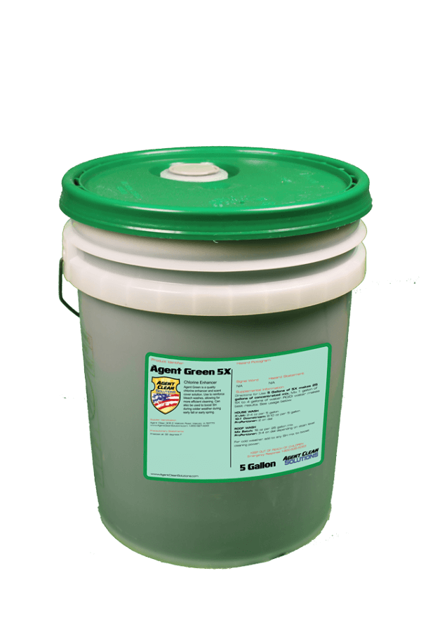 Agent Green 5x Concentrate - 5 Gallon Bucket